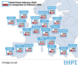 Hotel rates are back on the rise