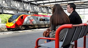 Virgin Trains bank holiday booking surge