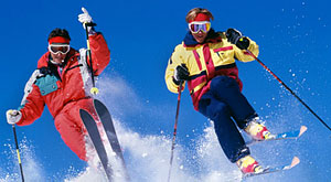 Book early for friendly low fares to the slopes