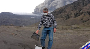 Volcanic Ash from Eyjafjallajökull for sale!