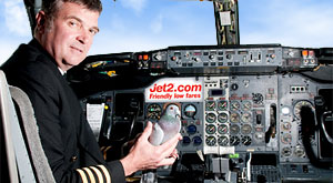 Champion pigeon Biggles flown back to Edinburgh...with a little help from leading leisure airline