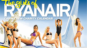 Over 50,000 passengers vote in Ryanair 2011 charity calendar poll