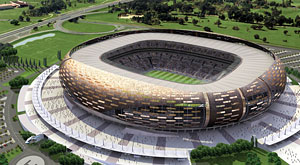 What are state-of-the-art stadiums at Johannesburg South Africa?