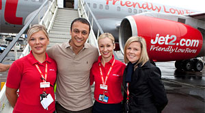 Jet2 - Spotted. Flying High with the Stars