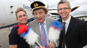 Eastern Airways aircraft named after Liverpool comedian