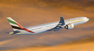 Emirates announce order for 30 Boeing 777-300ERs