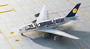 "Lufthansa's second A380 to be christened ""München"""