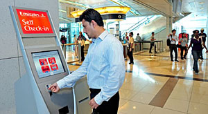 Emirates introduces Self-service, Check-in Kiosks at selected Dubai Metro stations