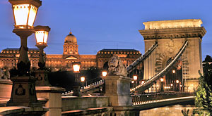 Summer on the Chain Bridge Festival Budapest Hungary