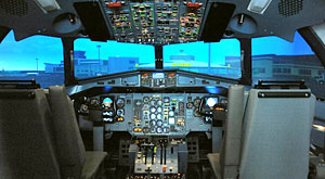 Aer Arann welcomes first ever ATR Simulator to Ireland