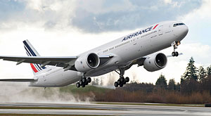 1st images of the Air France airline's 200th Boeing