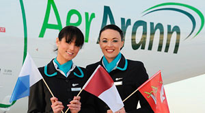 Aer Arann opens new gateway to London