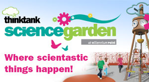 new Thinktank Science Garden opens 2 June