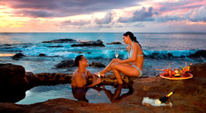 Romance is in the air and in the rocks at Cap Maison
