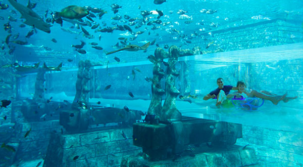 Aquaventure to unveil world first rides in new waterpark development at Atlantis, The Palm in Dubai