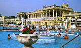 Spa and water fun in Budapest